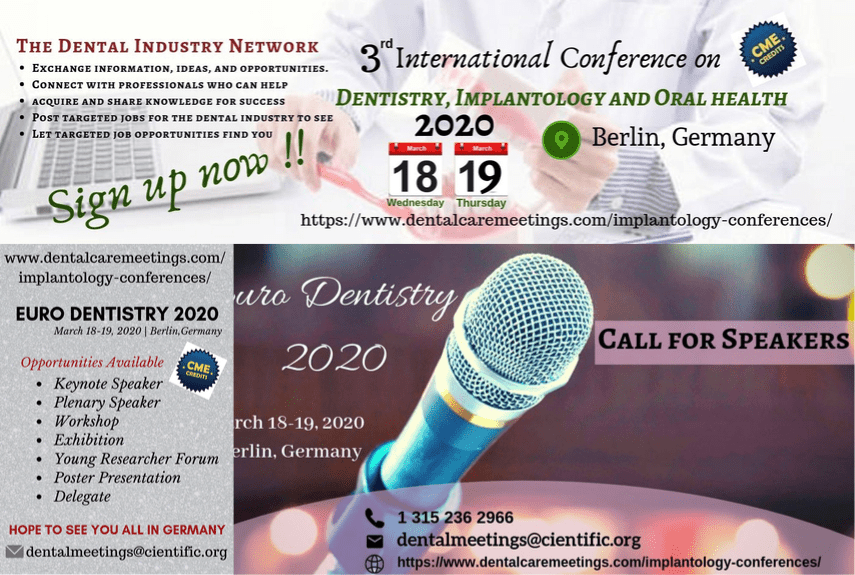 3rd International conference on Dentistry, Implantology and Oral Health