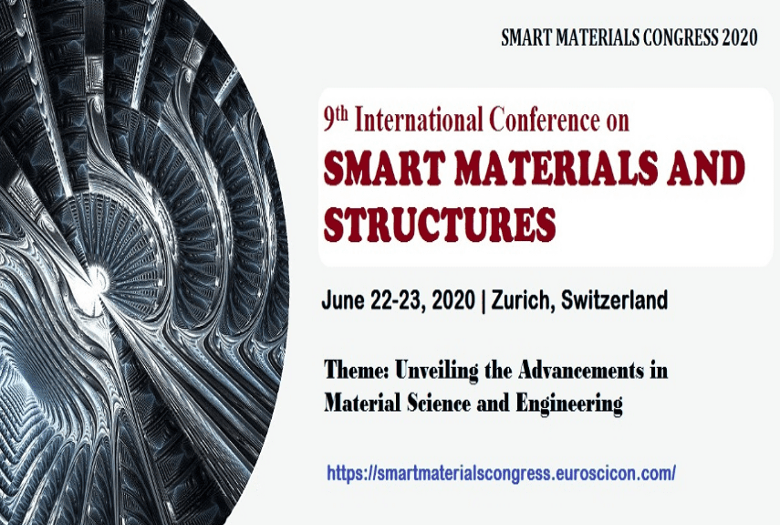 9th International Conference on Smart Materials and Structures
