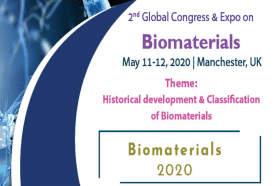 2nd Global Congress & Expo on Biomaterials