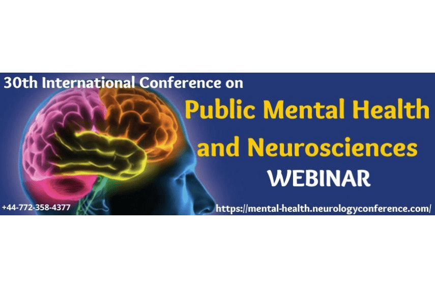 30th International Conference on Public Mental Health and Neurosciences