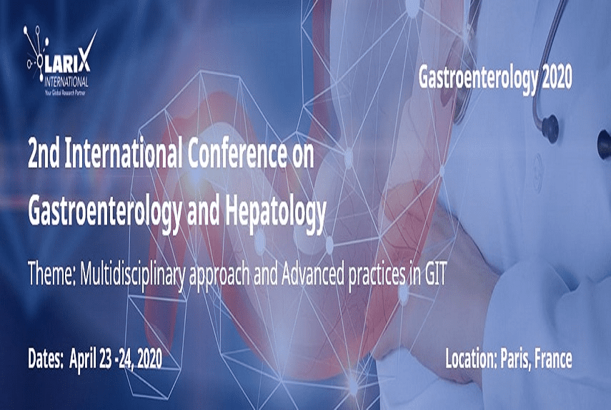 2nd International Conference on Gastroenterology and Hepatology