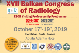 17th – XVII Balkan Congress of Radiology & ESOR Visiting Professorship