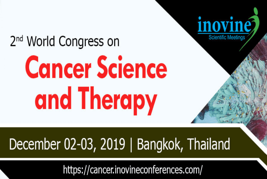 2nd World Congress On Cancer Science and Therapy