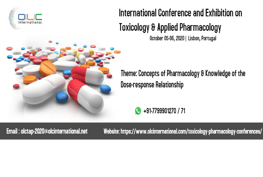 International Conference and Exhibition on Toxicology and Applied pharmacology