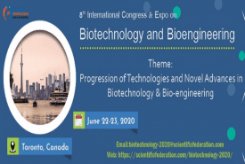8th International Congress & Expo on Biotechnology and Bioengineering