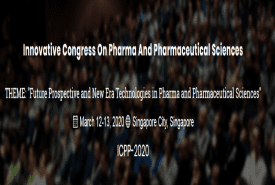 Innovative Congress on Pharma and Pharmaceutical Sciences