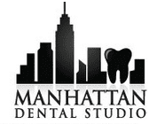 Логотип  «Manhattan Dental Studio»